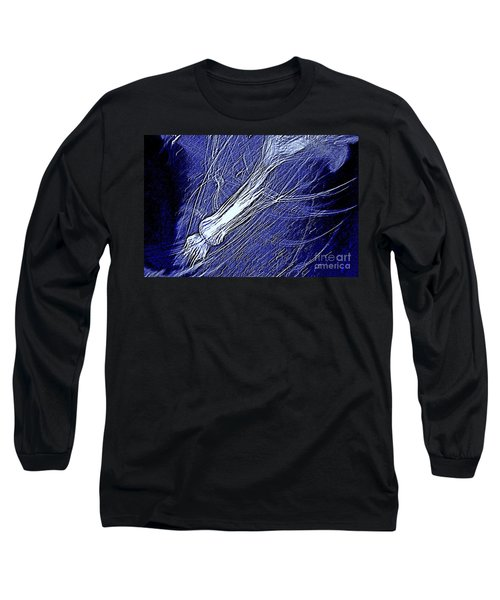 Aberration Of Jelly Fish In Rhapsody Series 5 Long Sleeve T-Shirt by Antonia Citrino