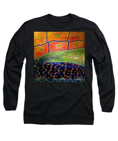 Original Sold Aboriginal Inspirations 7 Long Sleeve T-Shirt