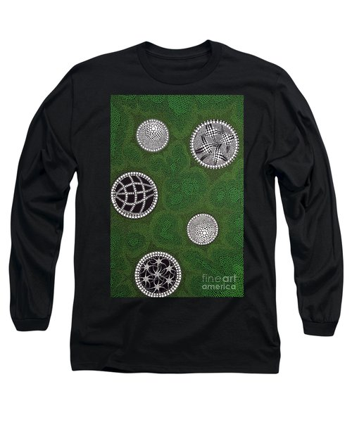 Long Sleeve T-Shirt featuring the painting Sold  by Mariusz Czajkowski