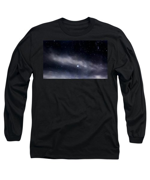Long Sleeve T-Shirt featuring the photograph Above by Angela J Wright