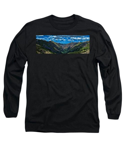 Long Sleeve T-Shirt featuring the photograph Above It All by Don Schwartz