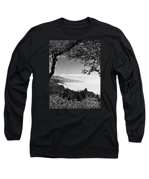 Above Nepenthe In Big Sur Long Sleeve T-Shirt