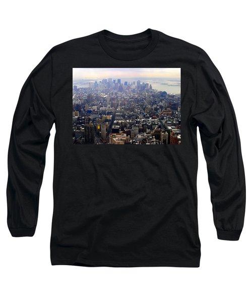 Above New York Long Sleeve T-Shirt
