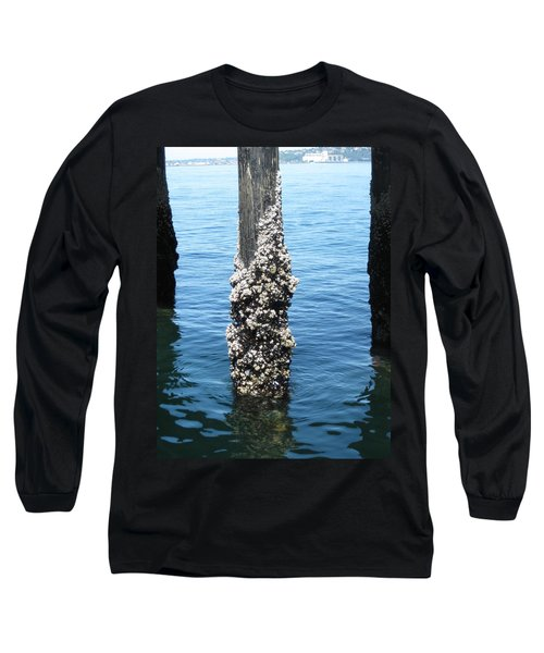 Above The Line Long Sleeve T-Shirt by David Trotter