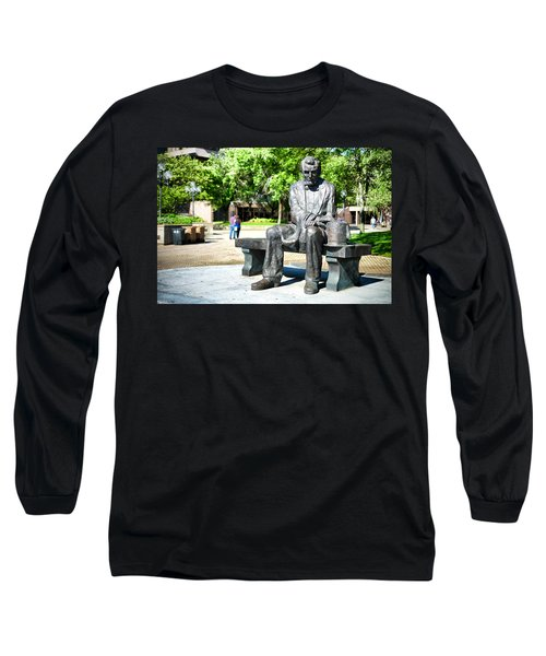 Abraham Lincoln Monument Long Sleeve T-Shirt