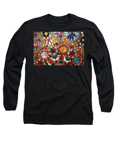 Abstract Beads Long Sleeve T-Shirt