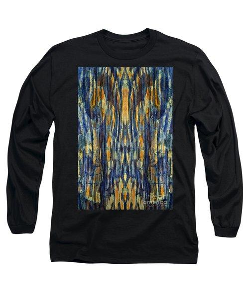 Abstract Symmetry I Long Sleeve T-Shirt by David Gordon