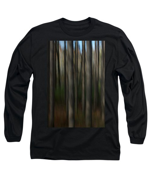 Abstract Woods Long Sleeve T-Shirt