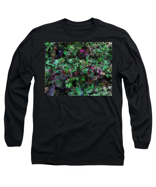 Long Sleeve T-Shirt featuring the digital art Abstraction 121514 by David Lane