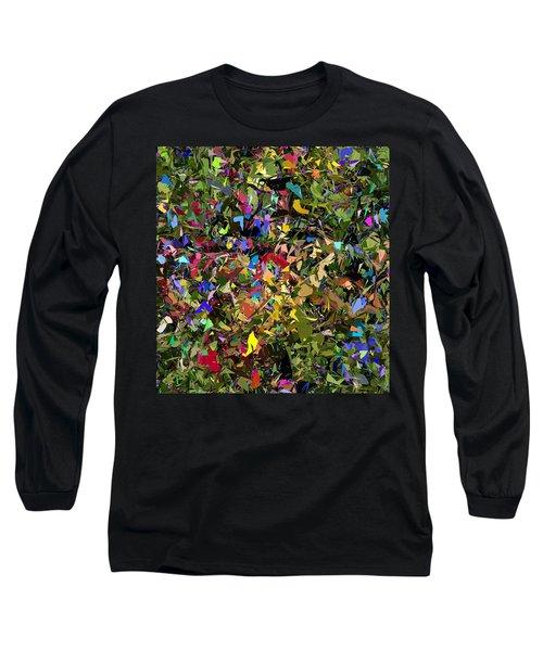 Abstraction 2 0211315 Long Sleeve T-Shirt by David Lane