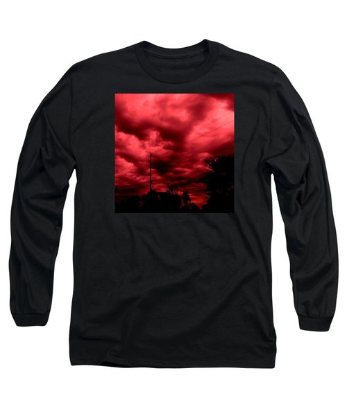 Abyss Of Passion Long Sleeve T-Shirt by Jeff Iverson