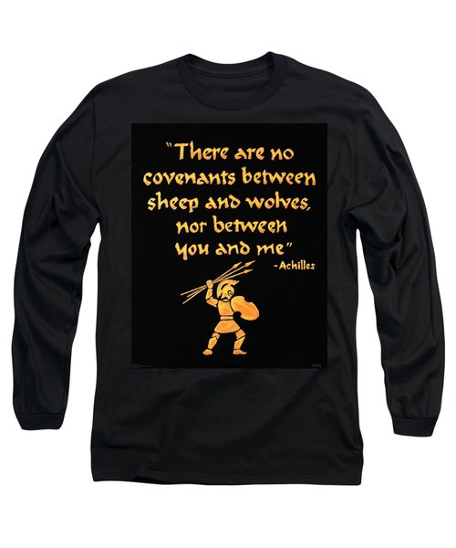 Achilles Admonition Long Sleeve T-Shirt
