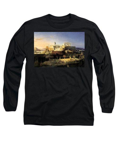 Acropolis Of Athens Long Sleeve T-Shirt