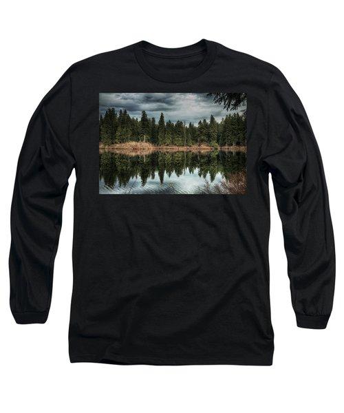 Across The Lake Long Sleeve T-Shirt
