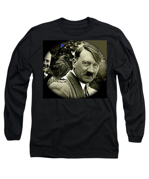 Adolf Hitler And A Feathered Friend C.1941-2008 Long Sleeve T-Shirt