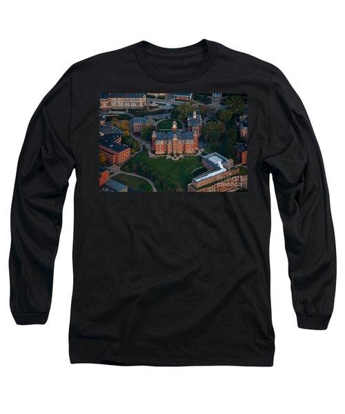Aerial Of Woodburn Hall Long Sleeve T-Shirt