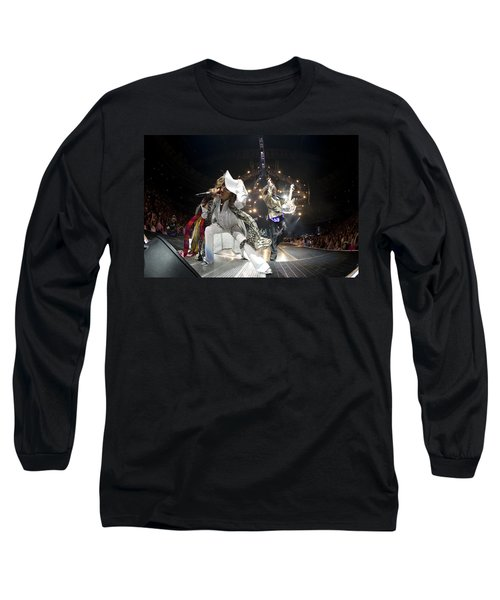 Aerosmith - On Stage 2012 Long Sleeve T-Shirt by Epic Rights