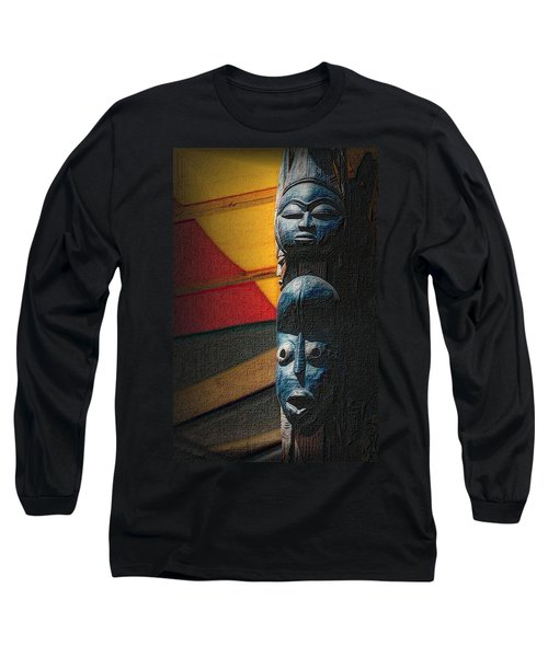 African Masks Long Sleeve T-Shirt
