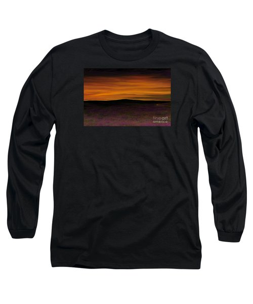 Long Sleeve T-Shirt featuring the painting African Sky by Rand Herron