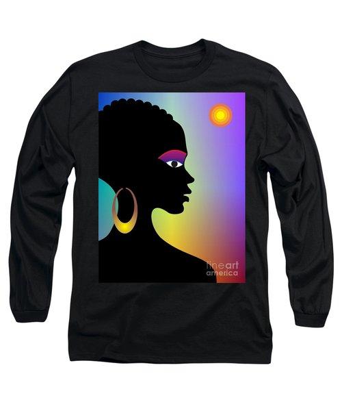 Afroette Long Sleeve T-Shirt