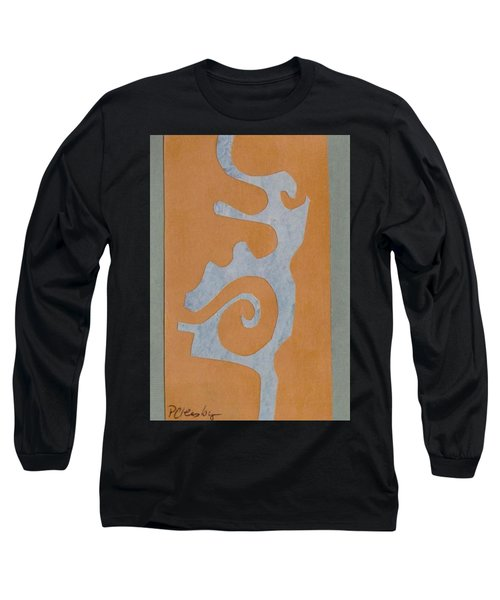 Swirl  Long Sleeve T-Shirt by Patricia Cleasby