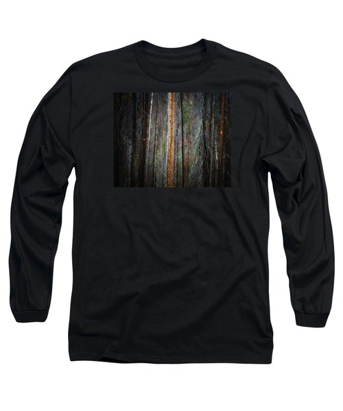 Long Sleeve T-Shirt featuring the photograph After The Burn 3 by Newel Hunter