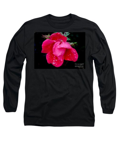 After The Rain Long Sleeve T-Shirt by Mariarosa Rockefeller