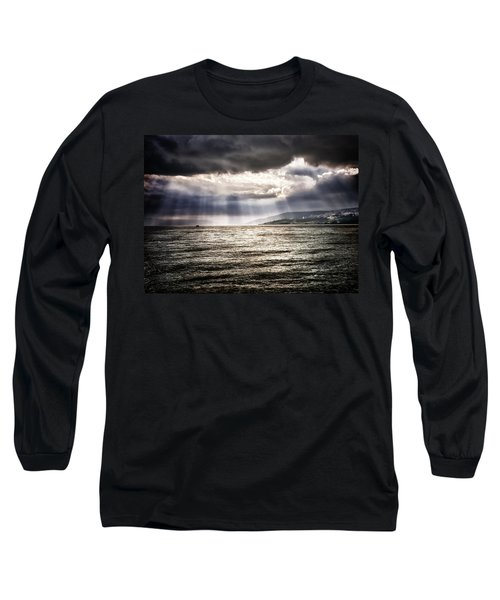 After The Storm Sea Of Galilee Israel Long Sleeve T-Shirt
