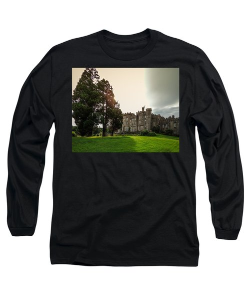 Afternoon Sun Over Markree Castle Long Sleeve T-Shirt