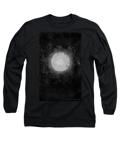 Long Sleeve T-Shirt featuring the drawing Afterward by Carol Jacobs
