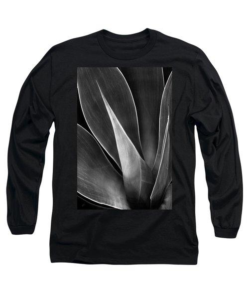 Agave No 3 Long Sleeve T-Shirt by Ben and Raisa Gertsberg