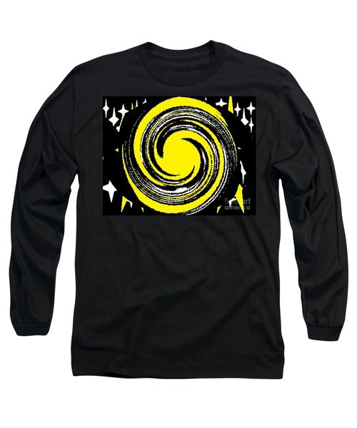 Long Sleeve T-Shirt featuring the digital art Aimee Starry Night by Catherine Lott