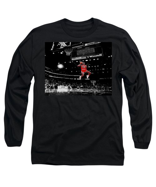 Air Jordan Long Sleeve T-Shirt by Brian Reaves