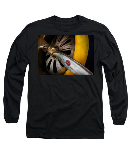 Air - Pilot - Ready For Take Off Long Sleeve T-Shirt by Mike Savad