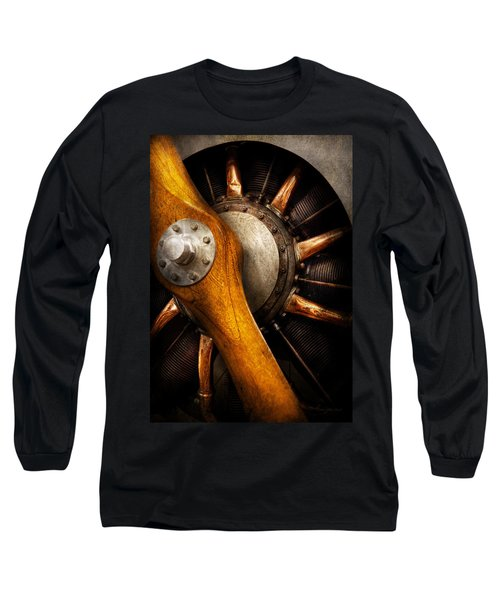 Air - Pilot - You Got Props Long Sleeve T-Shirt by Mike Savad