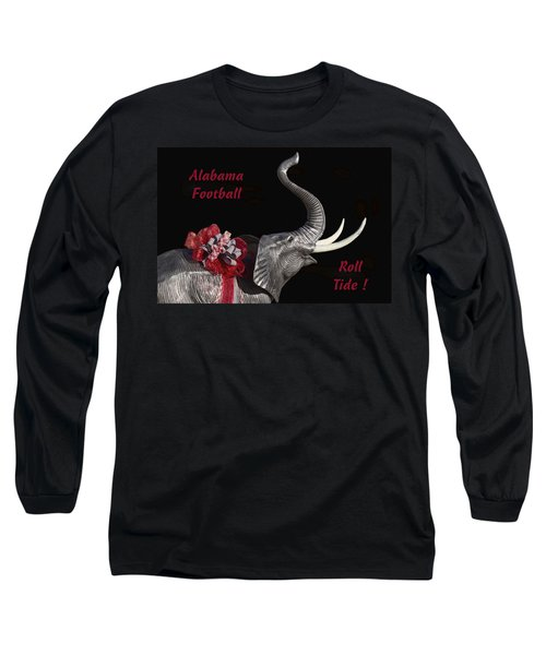 Alabama Football Roll Tide Long Sleeve T-Shirt