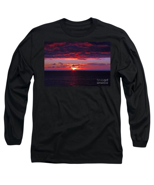 Alaskan Sunset Long Sleeve T-Shirt