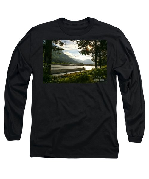 Alaskan Valley Long Sleeve T-Shirt by Jennifer White