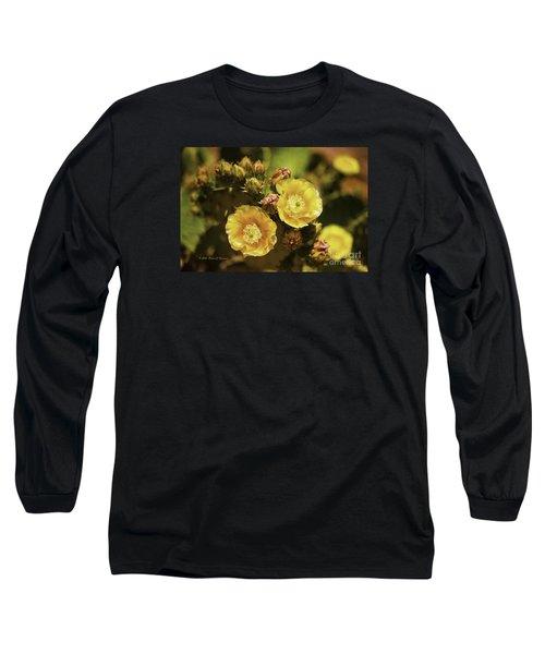 'albispina' Cactus #3 Long Sleeve T-Shirt