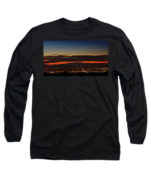 Albuquerque Sunset Long Sleeve T-Shirt