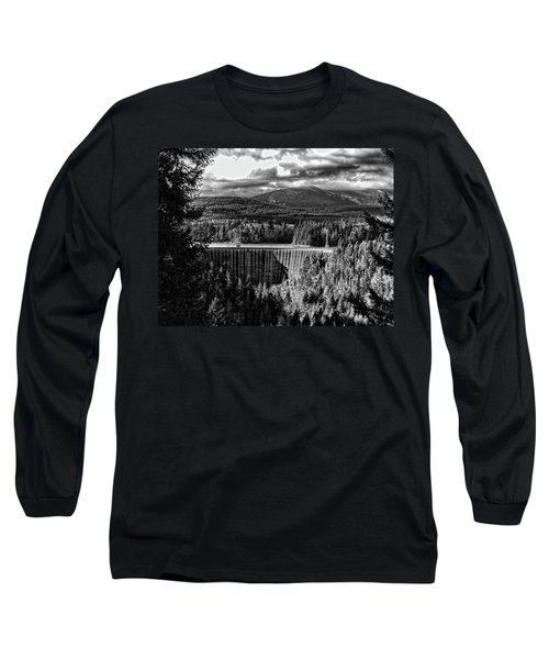 Alder Dam Near Mt Rainer Wa Long Sleeve T-Shirt