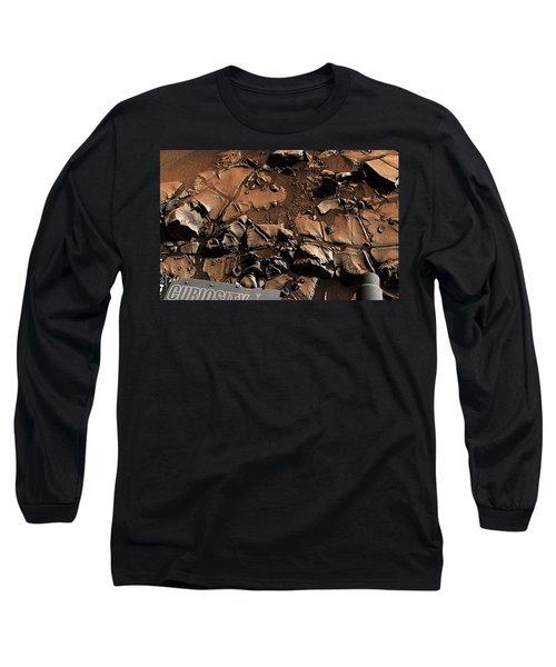 Alexander Hills Bedrock In Mars Long Sleeve T-Shirt