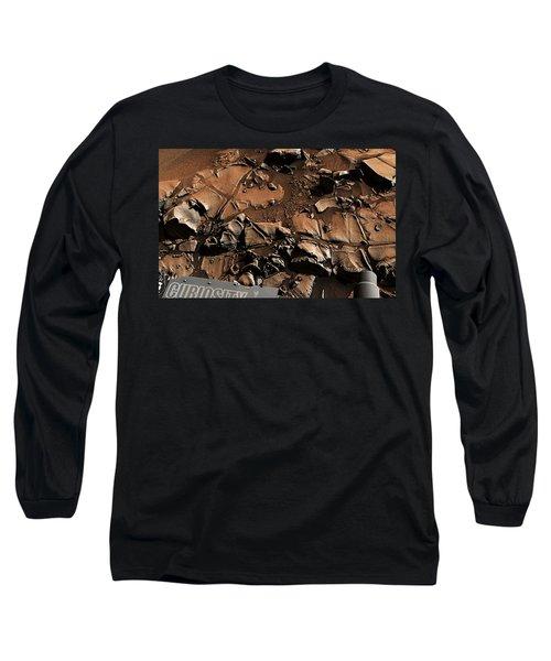 Alexander Hills Bedrock In Mars Long Sleeve T-Shirt