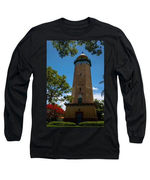 Alhambra Water Tower Of Coral Gables Long Sleeve T-Shirt