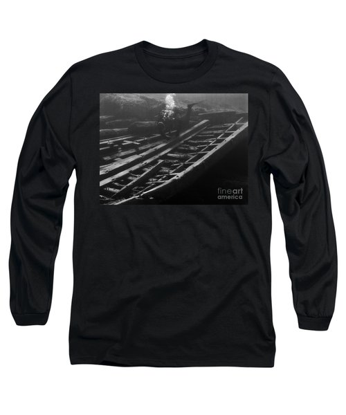Long Sleeve T-Shirt featuring the photograph Alice G. by JT Lewis