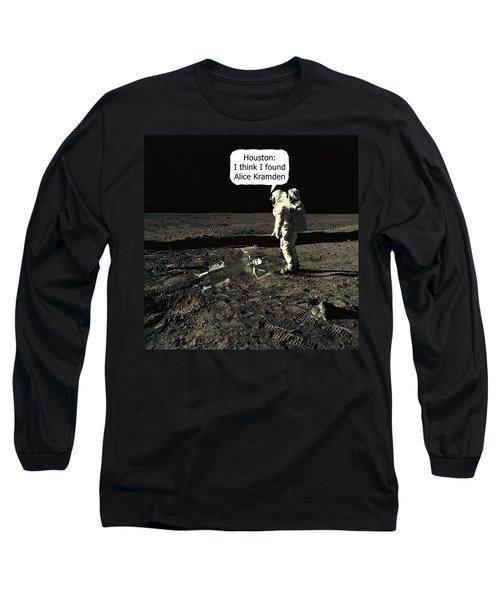 Alice Kramden On The Moon Long Sleeve T-Shirt