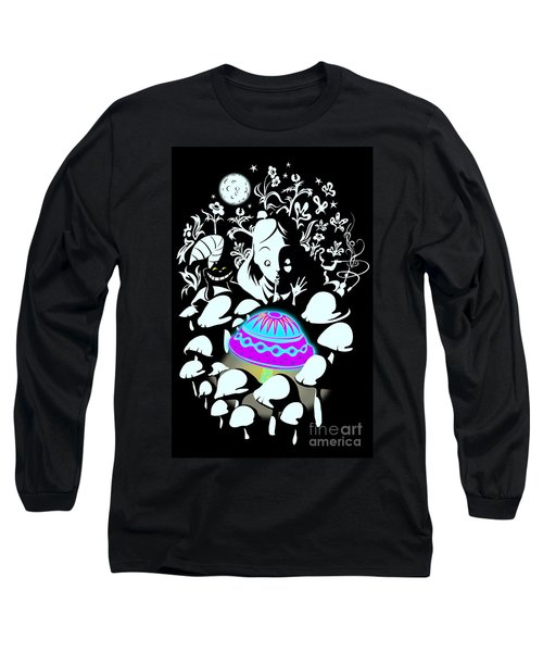 Alice's Magic Discovery Long Sleeve T-Shirt