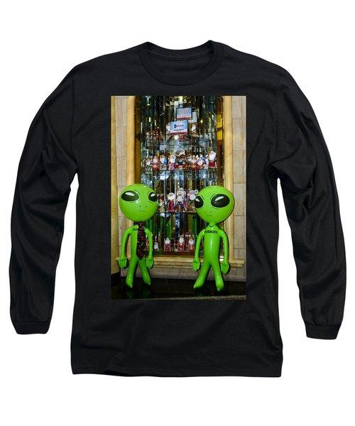 Alien Christmas Tour Long Sleeve T-Shirt