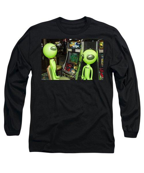 Alien Slot Play  Long Sleeve T-Shirt