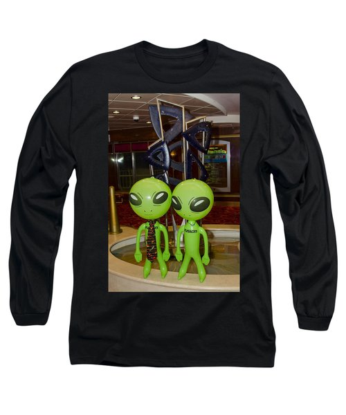 Aliens And Whatamacallit Long Sleeve T-Shirt